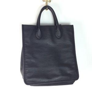 J. Crew black classic tote bag